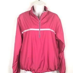 Sunice Pink Weather Golf Windbreaker M